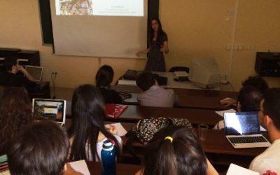 Le FIL en exemple à l'Université de Madrid