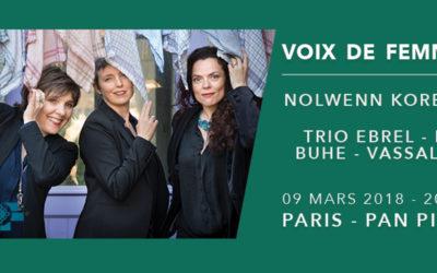 Paris Celtic Live : les voix de femmes à l'honneur