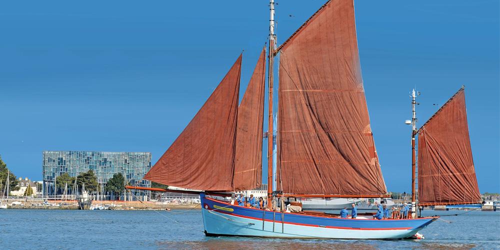 Navigation à bord de l'André-Yvette