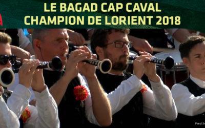 Bagad Cap Caval : champion de Lorient 2018