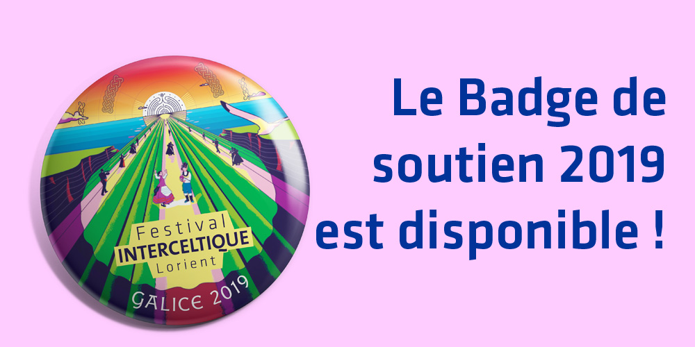 Le badge 2019 est disponible !