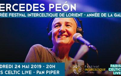 Mercedes Peón à Paris le 24 mai.