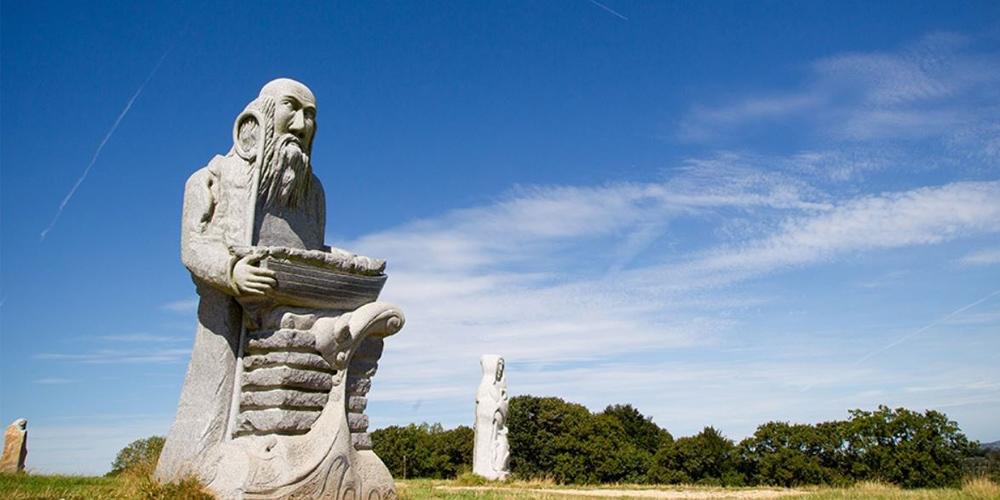 Le Géant « Saint David » à Lorient