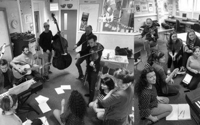 Rencontre unique et exceptionnelle de 6 jeunes talentueuses chanteuses bretonnes et écossaises.
