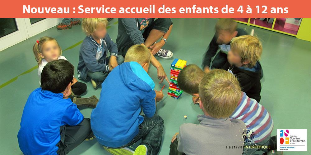 Service d'accueil pour les enfants