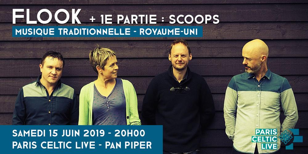 Flook & Scoops : le 15 juin à Paris