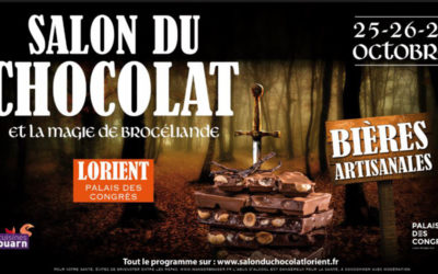 Salon du Chocolat : magie et légendes de Brocéliande !