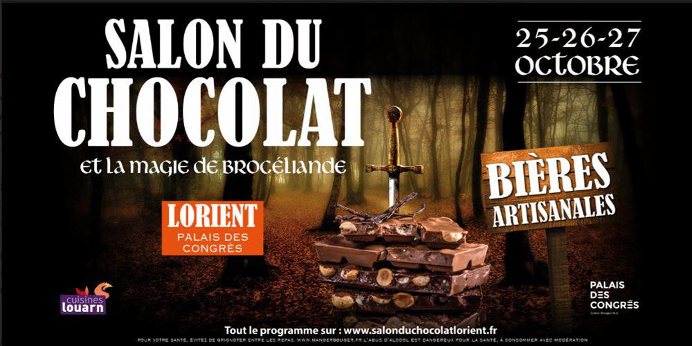 Salon du Chocolat : magie et légendes de Brocéliande !