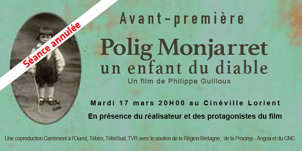 Avant-première : un film sur Polig Monjarret: ANNULE