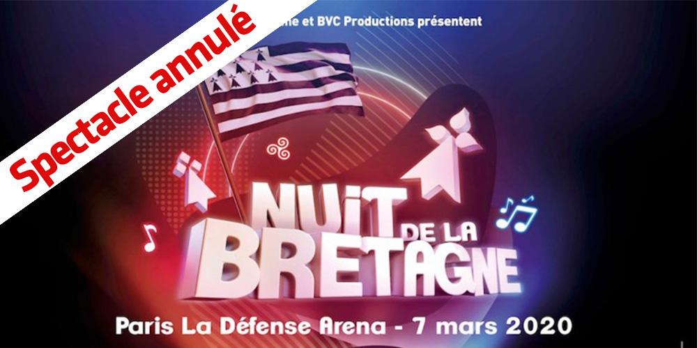 Nuit de la Bretagne : annulée