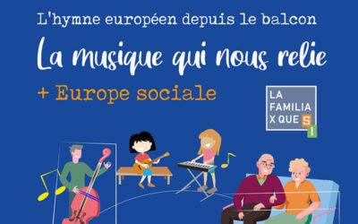 L'hymne européen depuis votre balcon : 12 avril à 12h