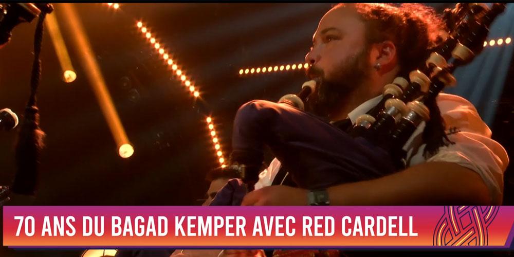 Le concert du Bagad Kemper et Red Cardell : Rediffusion vendredi 20h30