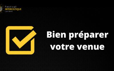 FIL 2021 : Préparer votre venue