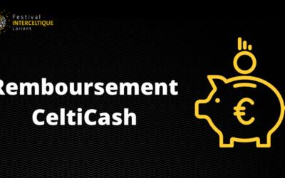 Remboursement CeltiCash 2021